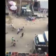 Nigeria Police Shooting Live Rounds At Yaba, Lagos (Video)