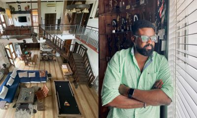 Kunle Afolayan flaunts interior of his exquisite mansion (Photos)
