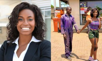 'He makes me happy' – Lady who went viral with her 'mechanic' boyfriend speaks