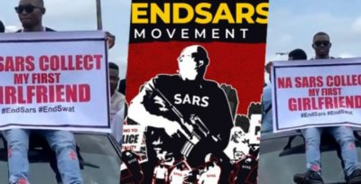 Na SARS collect my first girlfriend: Angry protester