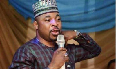 End SARS Protest: MC Oluomo visits burnt Makinde Police Station in Oshodi