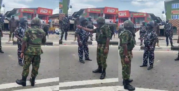Air Force Intervenes, Slams Policemen For Shooting At A Crowd (Video)