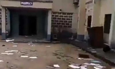 Hoodlums invade Federal Neuro-Psychiatric Hospital In Calabar (Video)