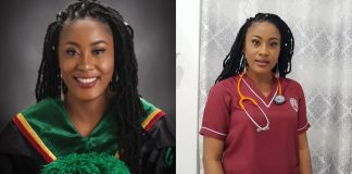 Nigerian lady bags 3 degrees, becomes doctor, pharmacist years after being told girl child can't be great