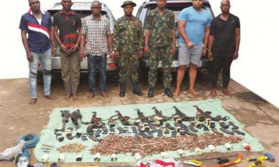 Armed robber coordinates operations in Ebonyi from Ikoyi prison