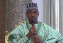 Please send disbanded SARS officers to us to fight Boko Haram — Gov. Zulum of Borno State