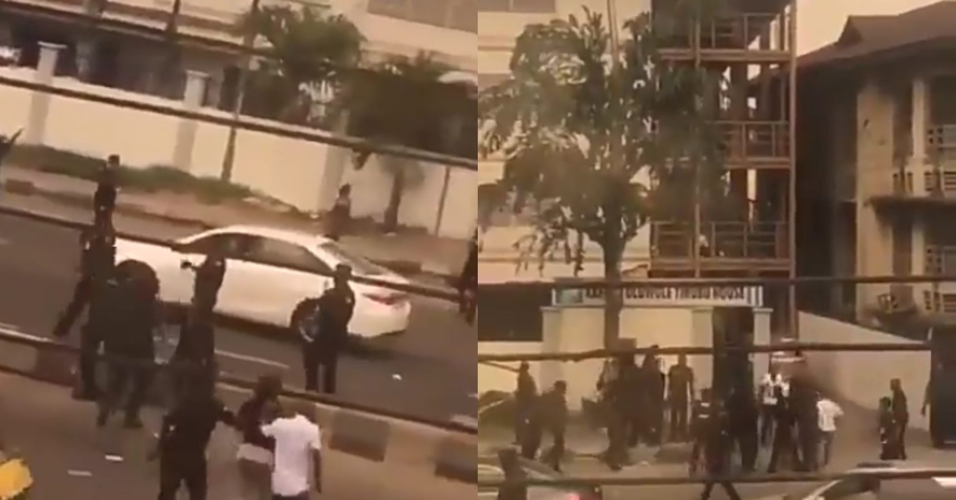 Policemen beat two female protesters brutally and mercilessly (video)