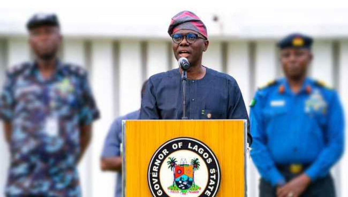 Breaking: Sanwo-Olu Imposes 24-Hours Curfew In Lagos
