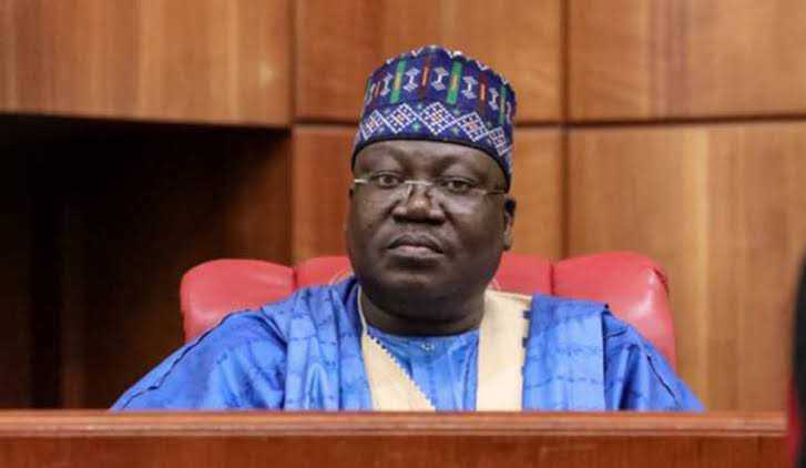 Lawan Swears In Abiru, Dickson, Two Other New Senators
