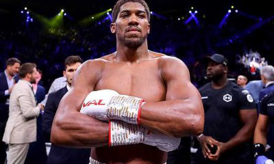 Anthony Joshua condemns the killing of innocent protesters