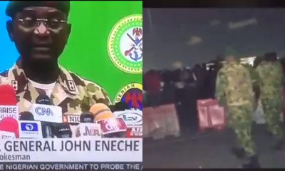 Nigerians React As Army Says Videos Of Lekki Shooting Are Photoshopped, Fake
