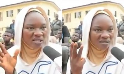 Woman detained for 6days for violating curfew in Lagos (Video)