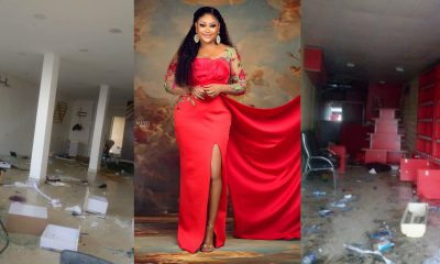 """They took all my years of hardwork"" – Uche Elendu Laments Looting of Her Store by Hoodlums (photos)"