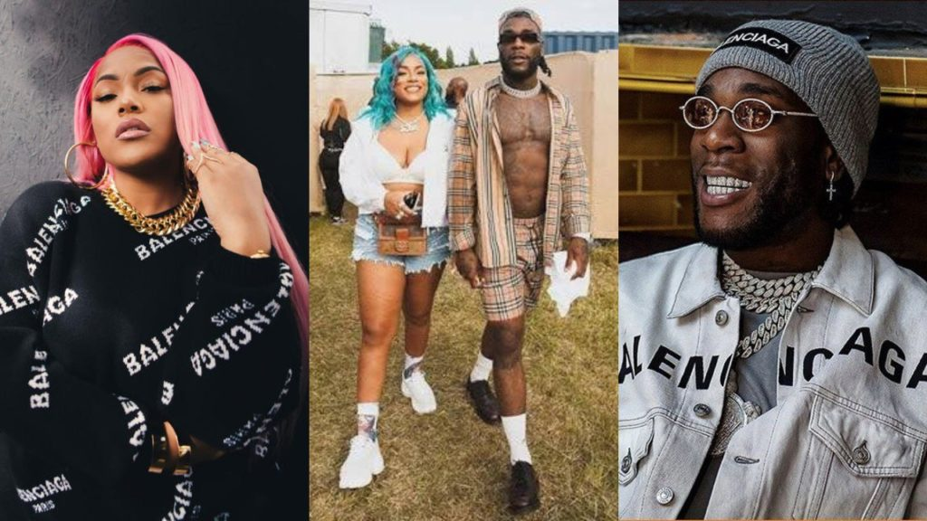 Burna Boy, Stefflon Don Unfollow Each Other On Instagram