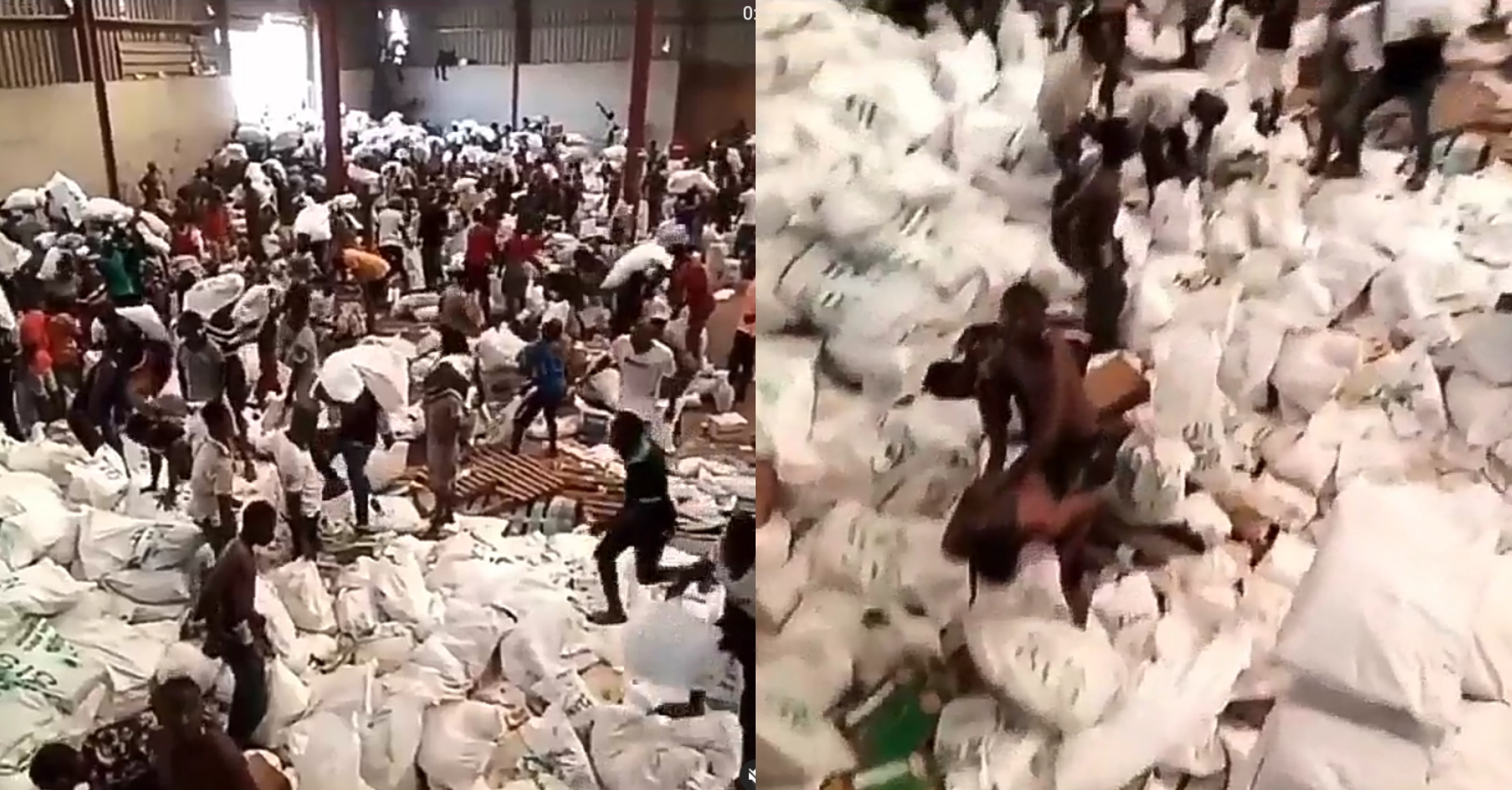 Another Warehouse Loaded With COVID-19 Palliative Allegedly Uncovered In Lagos
