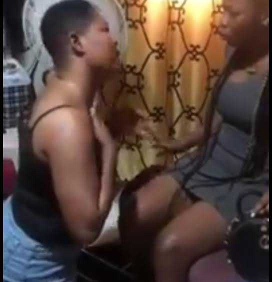 What have you seen in a man that you want to leave me for him? – Heartbroken lesbian begs her partner not to leave her