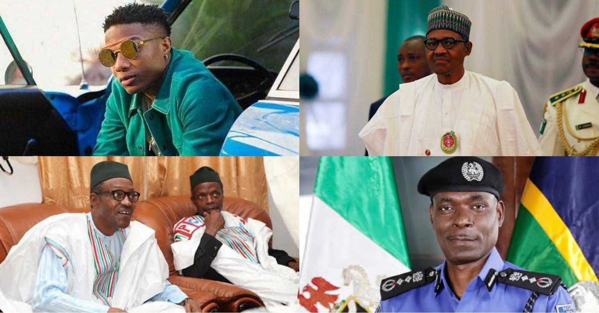 You are a failure! You should resign – Wizkid tells Buhari