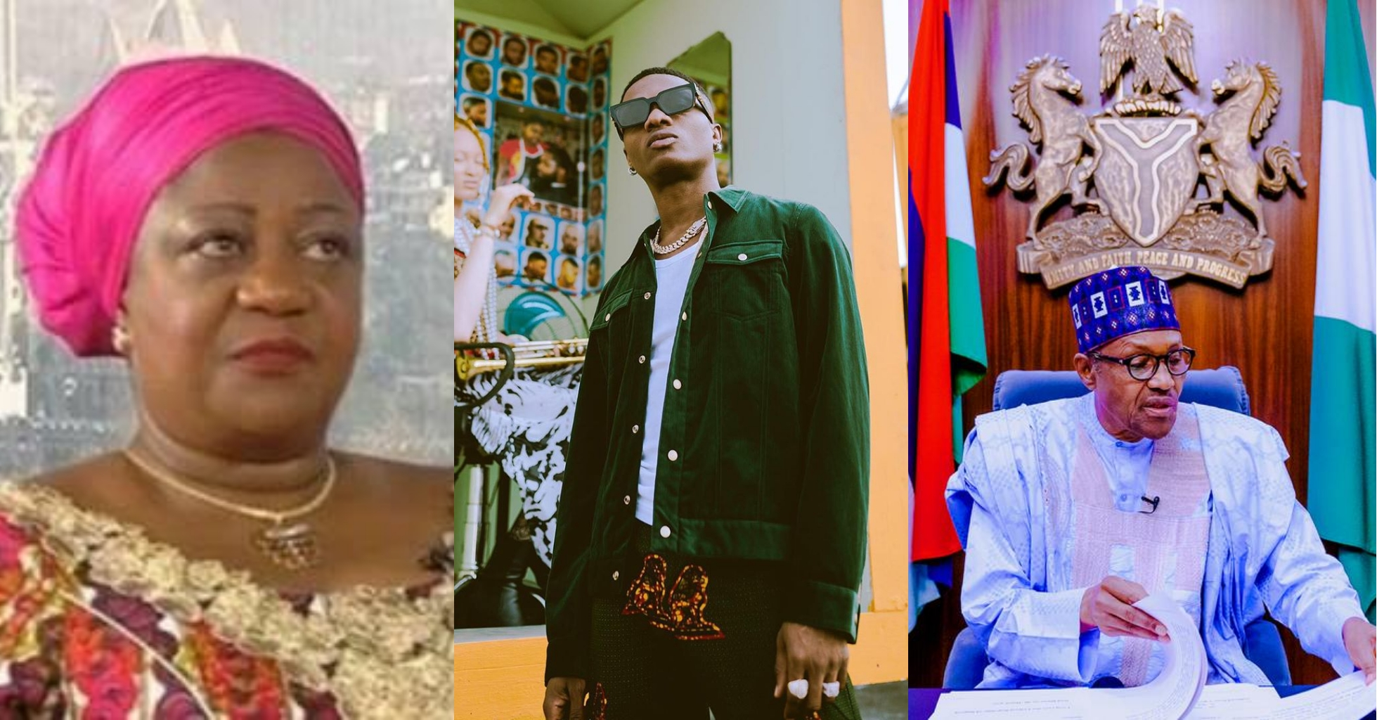 """You are a mother and kids are getting killed by SARS, shame on you"" – Wizkid replies Buhari's aide, Lauretta Onochie"