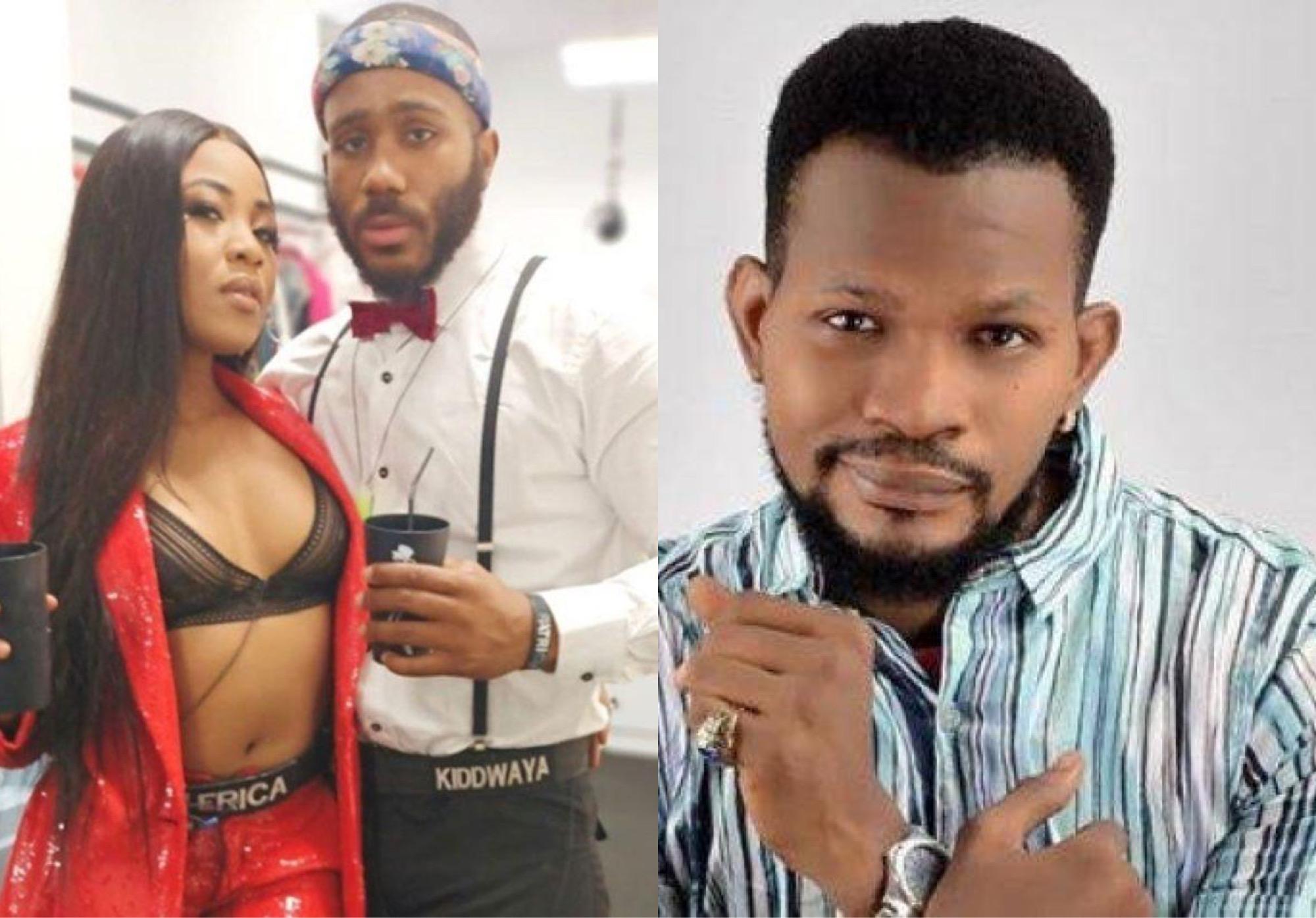 'Erica Made You Famous' - Uche Maduagwu Chides Kiddwaya Over Breakup Rumors
