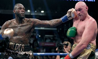 Deontay Wilder Says Tyson Fury Tampered With Gloves, Demands Third Fight