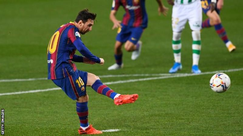 Barcelona 5-2 Real Betis: Lionel Messi Boosts Barcelona With Brace From The Bench