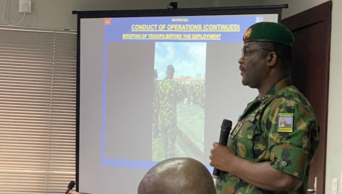 #EndSARS: Only Buhari Can Order Military Deployment, Says Army General