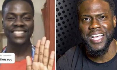 Comedian Kevin Hart Reacts After His Zambian Lookalike Goes Viral (Video)