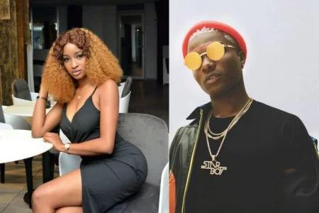 Wizkid, Kimoprah Flirt On Instagram (Photo)