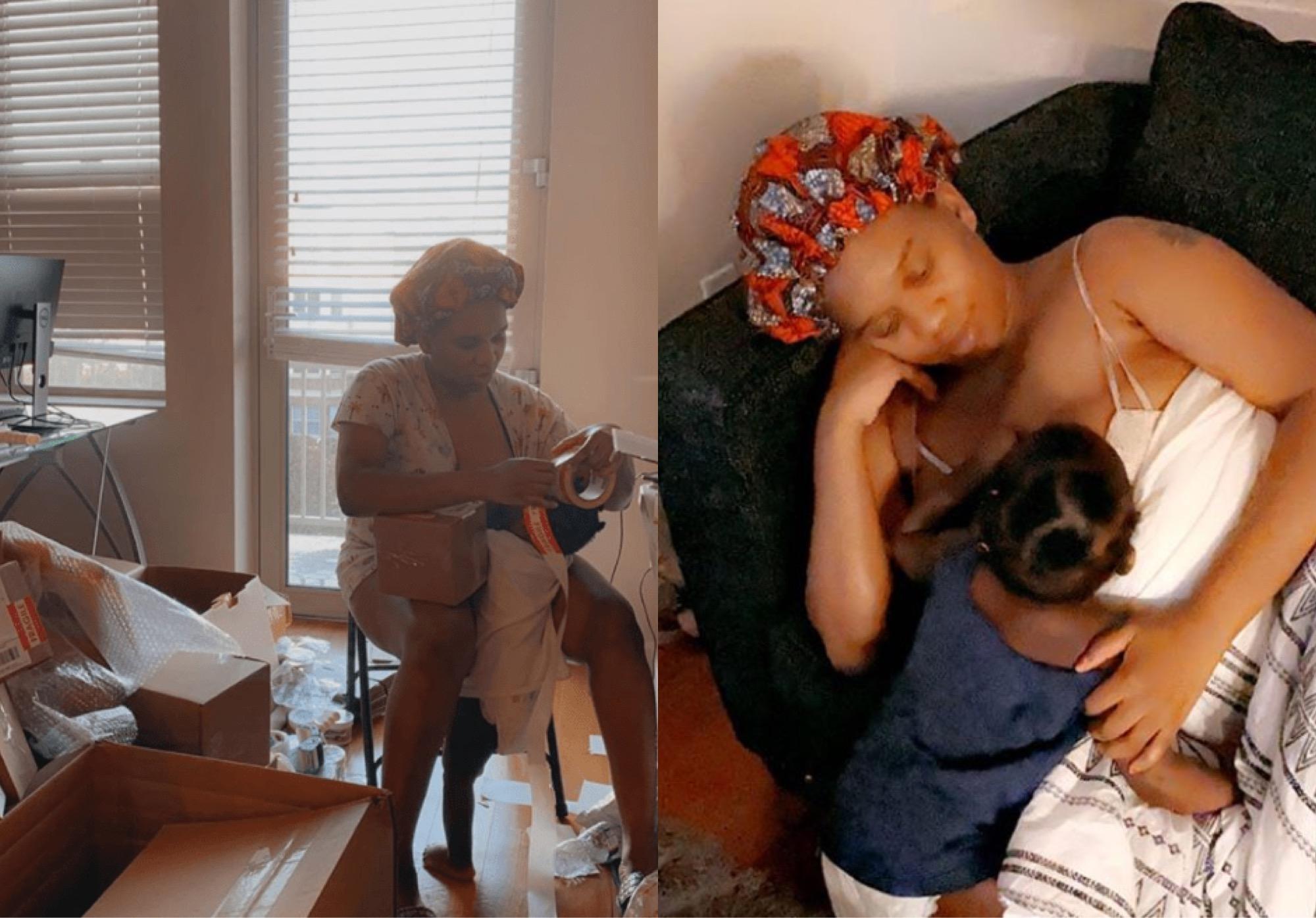 Babymama, Sandra Shares Shocking Revelation About Ubi Franklin