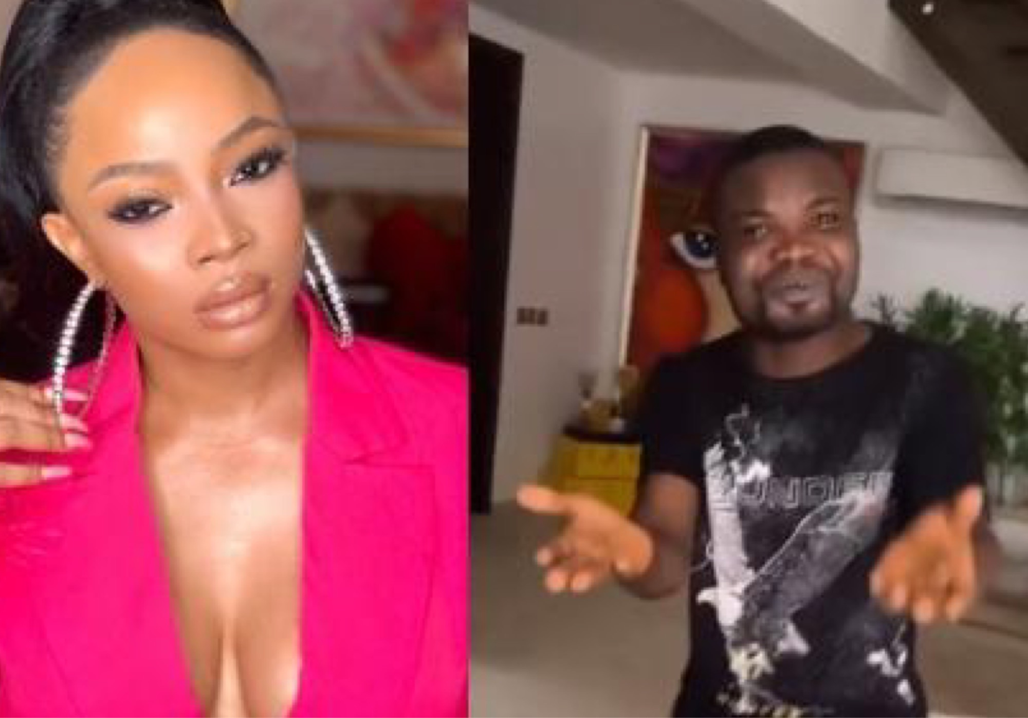 'My Chef Of 5 Years Just Built His House' - Toke Makinwa