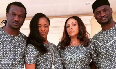 Lola Omotayo Pens Lovely Birthday Message To Peter And Paul Okoye