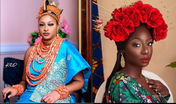 Etinosa Idemudia Cautions Tolani Baj; Says Dark-Skinned Women Are Not Underrated