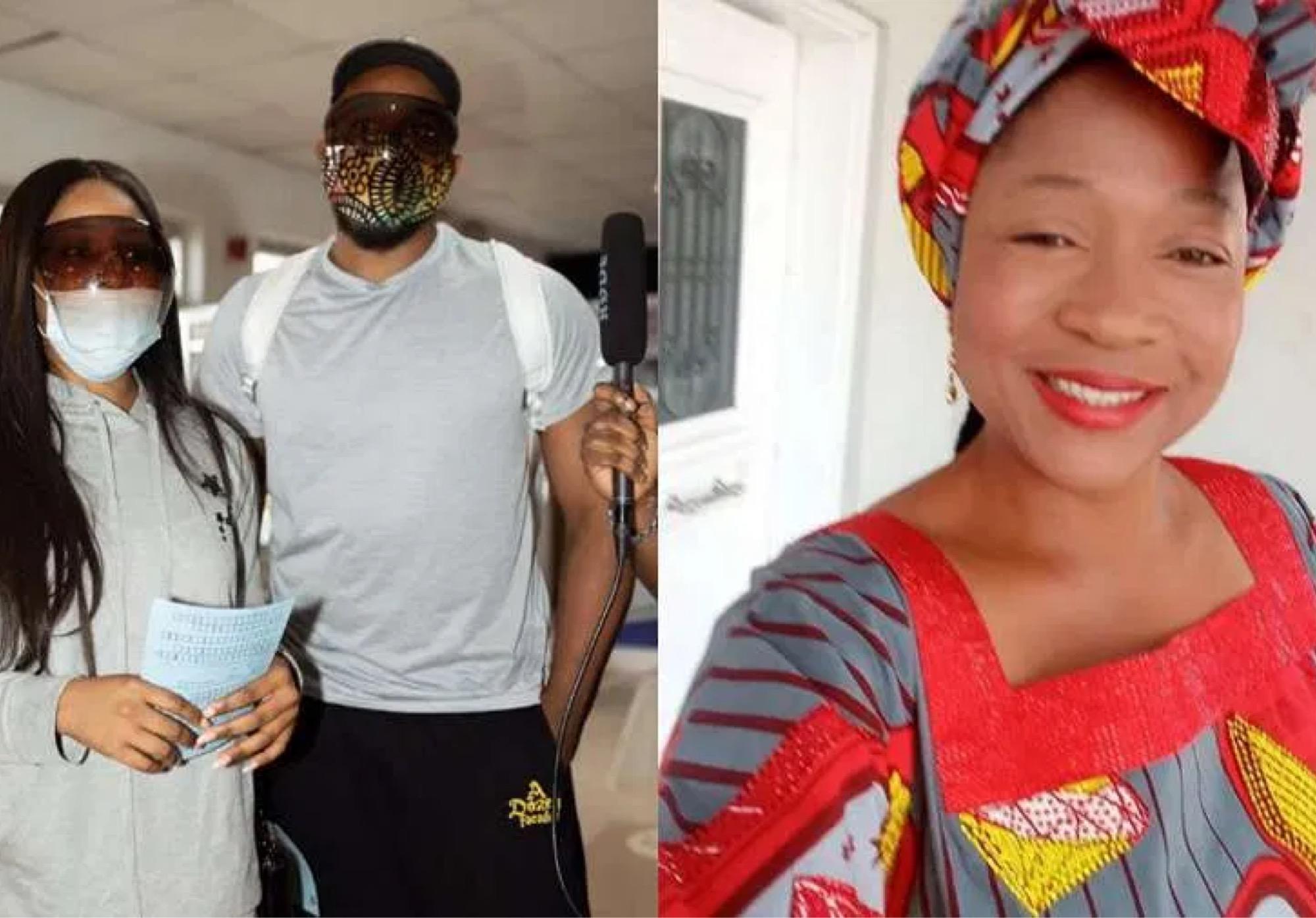 BBNaija's Kiddwaya, Erica Arrive In Sierra Leone; Susan Waya Asks Fans To Pray For Them