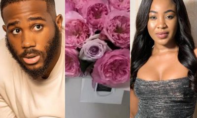 BBNaija's Kiddwaya Surprises Erica With Bouquet Of Flowers (Video)