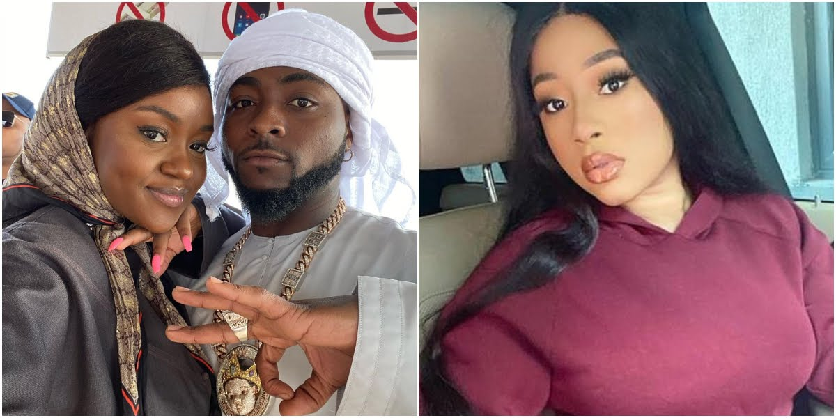Singer Davido Reacts After Being Accused Of Sliding Into IG model's DM