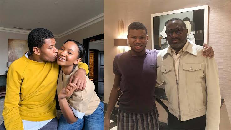 Everything You've Ever Wanted To Know About Femi Otedola's Son, Fewa