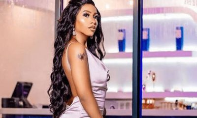 BBNaija's Mercy Eke Suffers Wardrobe Malfunction In Dubai