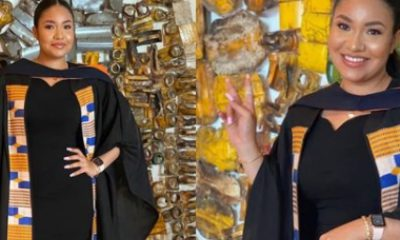 Flavor's Second Babymama, Anna Banner Bags Degree From Ghanaian University