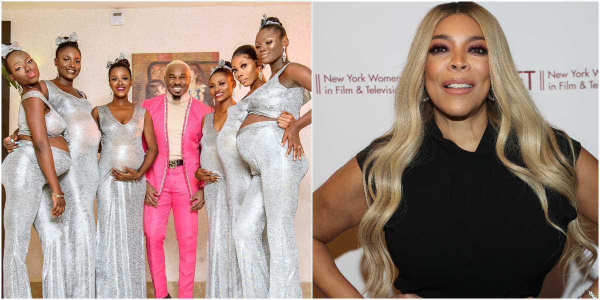 Socialite Pretty Mike And His 6 Pregnant Babymamas Make It To The Wendy Williams Show