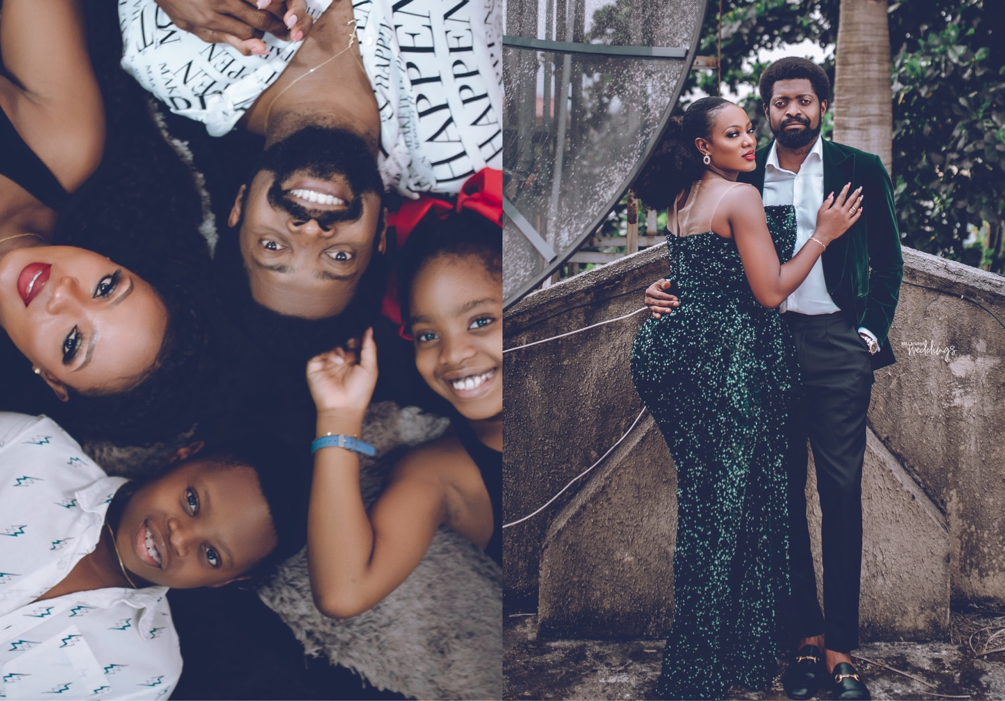 Basketmouth, Wife Celebrate Wedding Anniversary