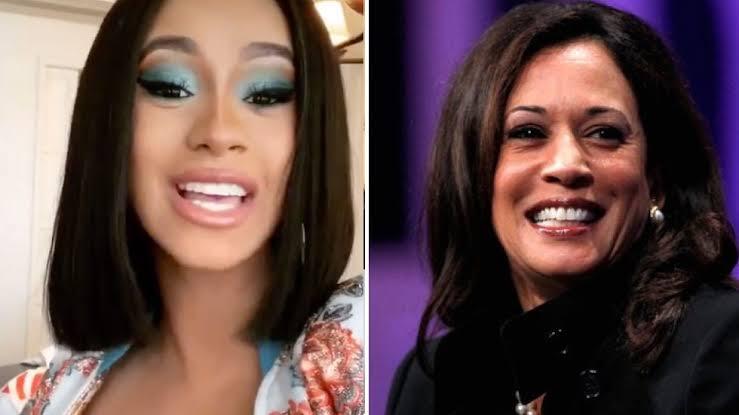 Video Of Kamala Harris Saying She Really Loves Cardi B Surfaces Online