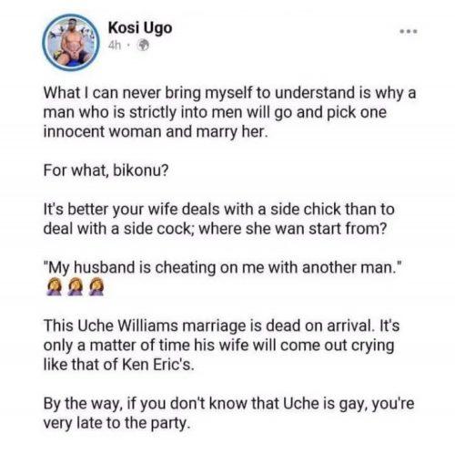 Ugo's post