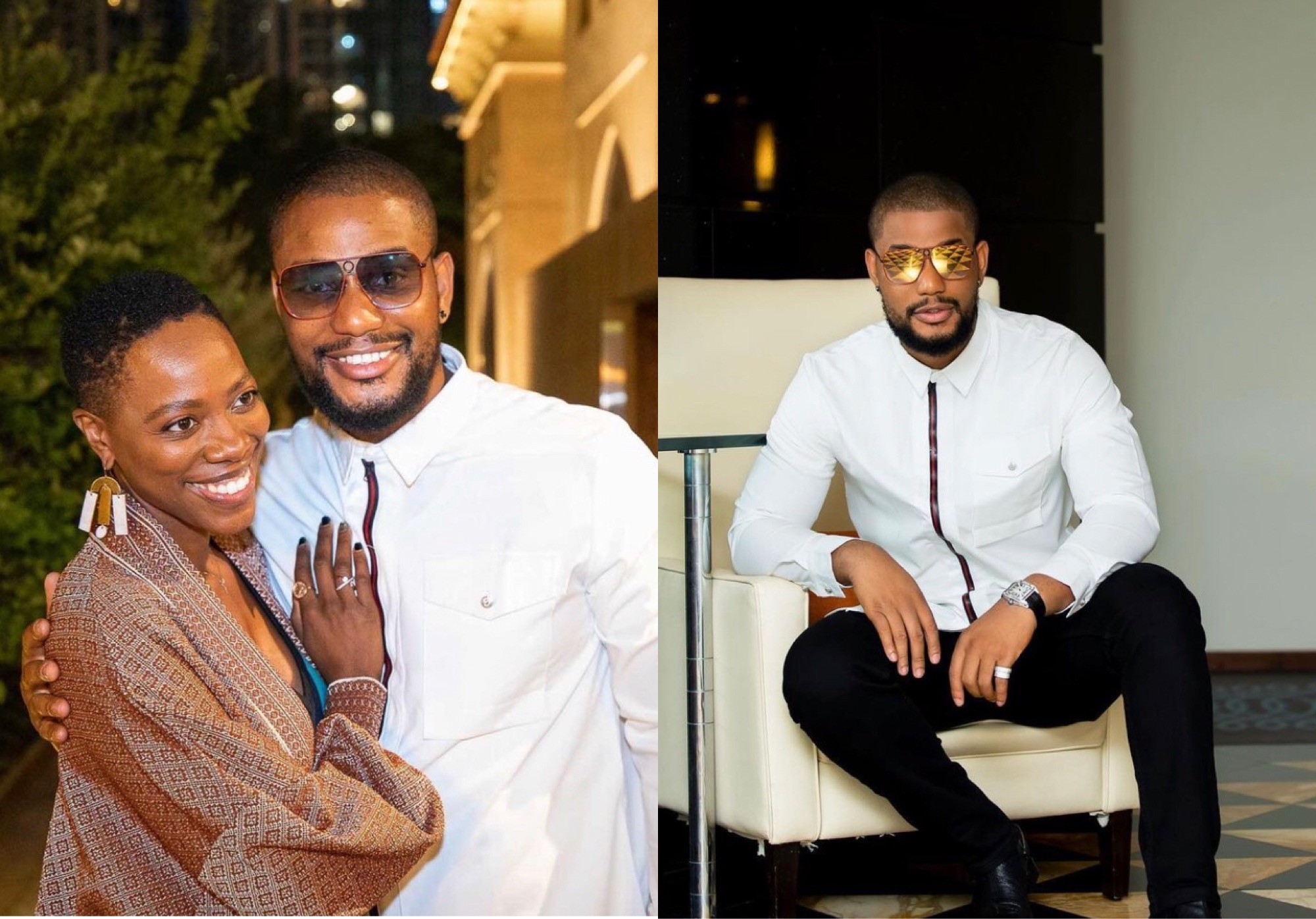 Alexx Ekubo Blasts Fan Who Advised Hollywood Star, Yvonne Orji Not To Do Business With Nollywood