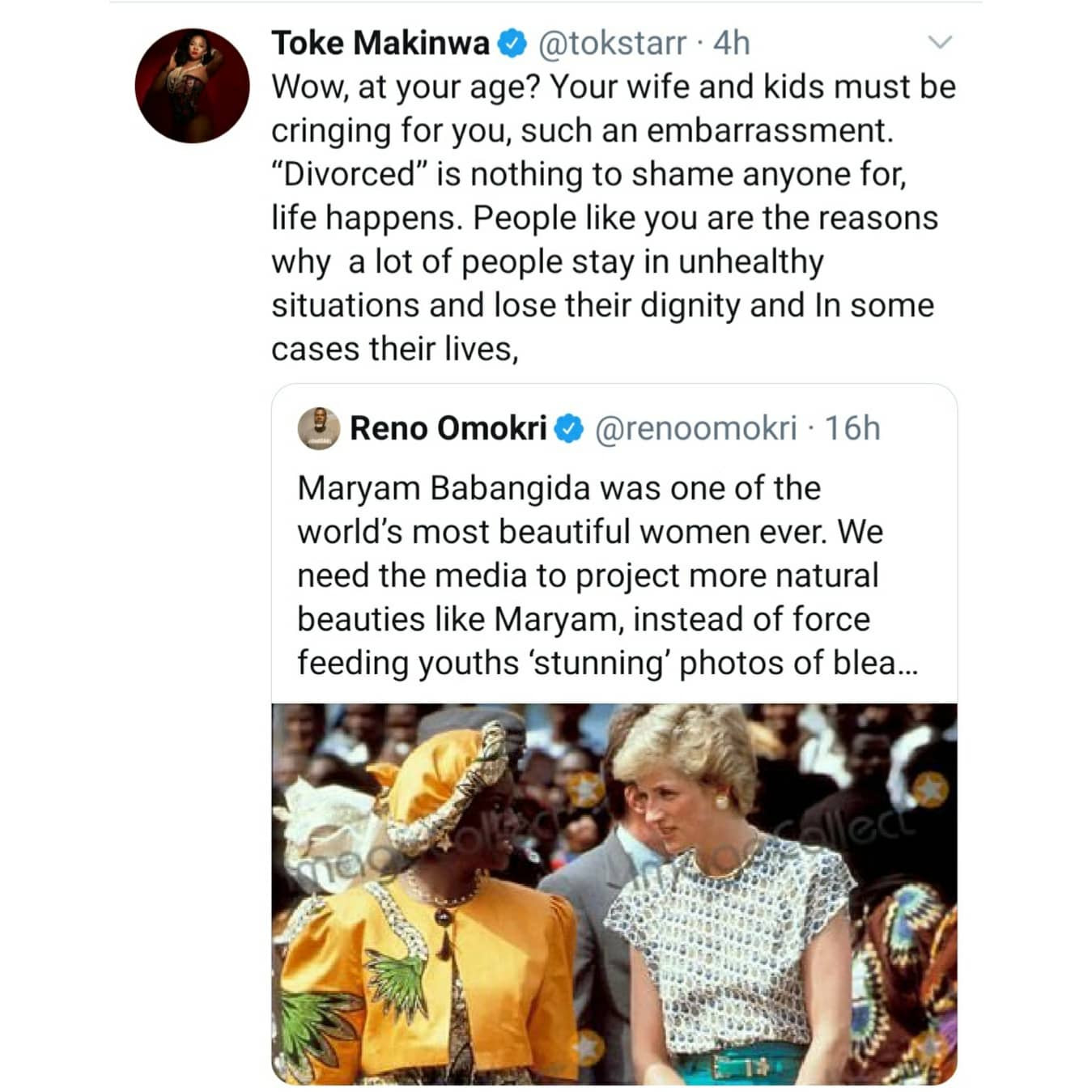 Makinwa's tweet