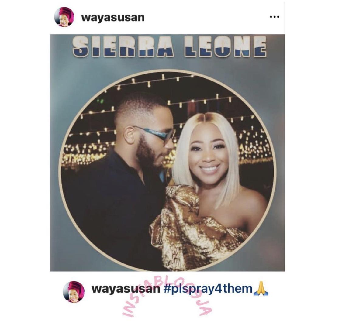 Susan's post