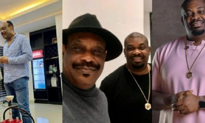 Don Jazzy, Dad Celebrate Birthday Today