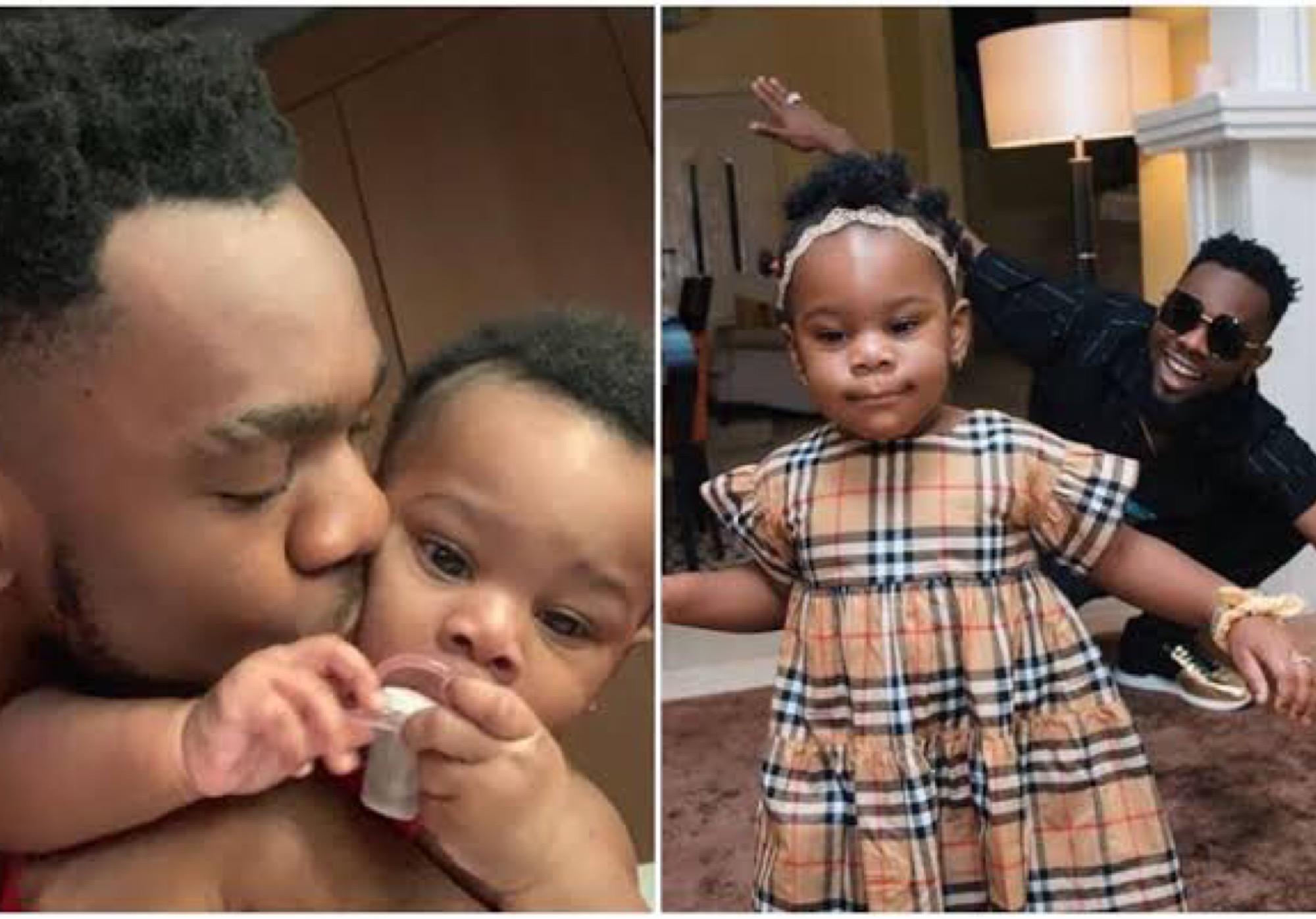 Patoranking Shares Cute Photos Of His Daughter, Wilmer