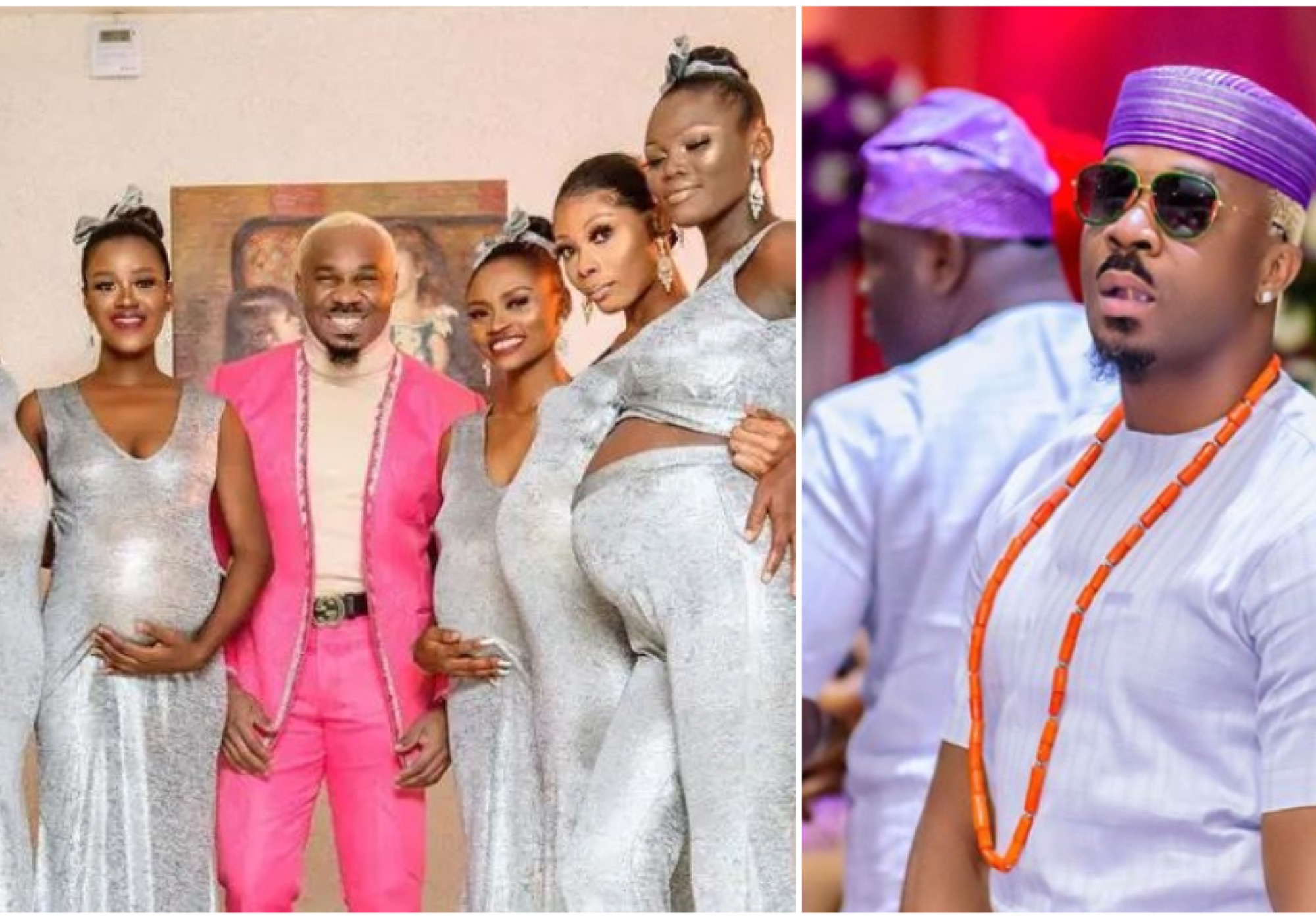 Pretty Mike Storms Actor Williams Uchemba's Wedding With An Array Of Heavily Pregnant Ladies