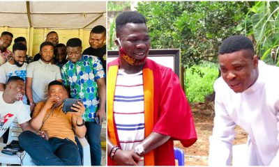 Comedian Woli Agba Gifts Cars To Crew Members