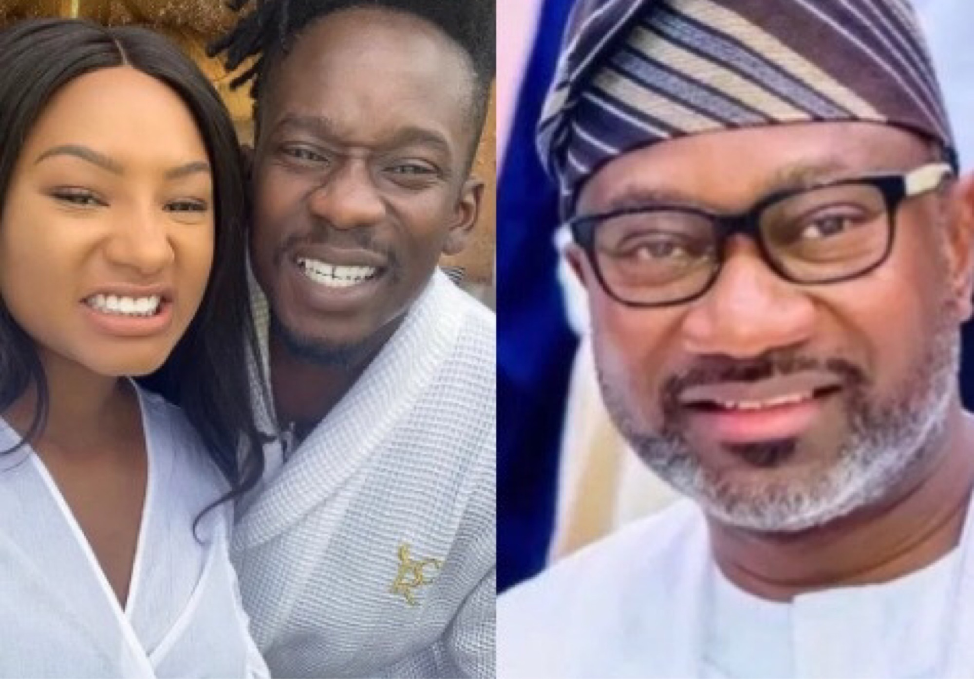 'When Una Go Marry?' – Femi Otedola Questions His Daughter, Temi And Her Boyfriend, Mr Eazi